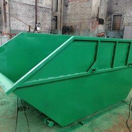 Мусорные ведра и баки - Контейнер мусорный 7,6 м3 для ТКО, 0