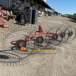 Спецтехника и навесное оборудование - Грабли ворошилки 5 колесные навесные, 0