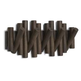 Вешалки напольные - Вешалка настенная picket состаренный орех, 0