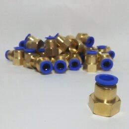 Водопроводные трубы и фитинги - Фитинг для шланга под быстросъем 12х8 1/2, 0