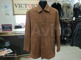 Куртки - Куртка замшевая мужская, 0