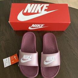 Шлепанцы - Сланцы Nike WMNS BENNASSI JDI.Новые, 0
