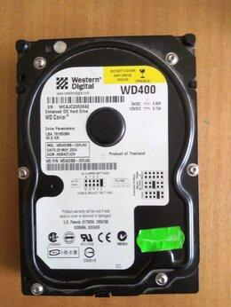 Внешние жесткие диски и SSD - Жесткий диск IDE 40GBWestern DigitalWD400BB, 0