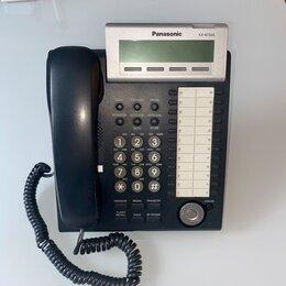 Системные телефоны - IP телефон Panasonic KX-NT343RU черный. Б/у и новый в наличии., 0