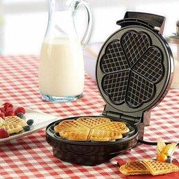 Сэндвичницы и приборы для выпечки - Вафельница FIRST 5300-1, 700 Вт, 5 вафель в…, 0