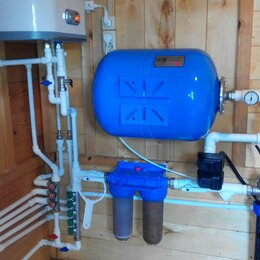 Комплектующие водоснабжения - Водоснабжение в частном доме от колодца , 0