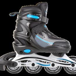 Обувь для спорта - Ролики детские раздвижные Tech Team Kolt р.38-41(L) синий, 0