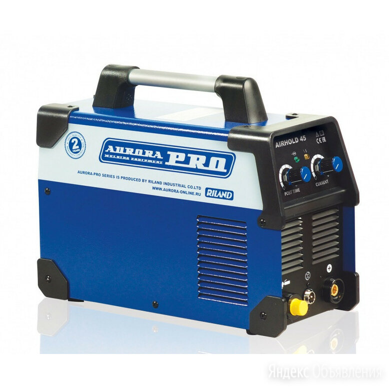 Плазморез AuroraPRO AIRHOLD 45 MOSFET по цене 20500₽ - Плазменная резка, фото 0