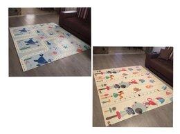 Развивающие коврики - Новый складной коврик 180*160, 200*180см (синие…, 0