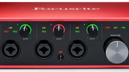 Оборудование для звукозаписывающих студий - FOCUSRITE Scarlett 18i8 3rd Gen аудио интерфейс…, 0