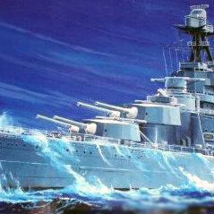 Сборные модели - Сборная модель. Крейсер Худ. Масштаб 1/350, 0