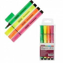 Рисование - Набор маркеров т/выд 4 цв Attache треугольный арт. 968799 /48/288, 0