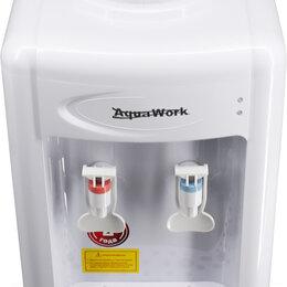 Кулеры для воды и питьевые фонтанчики - Кулер для воды Aqua Work 0.7-TDR белый, 0