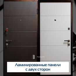Входные двери - Дверь входная двухцветная металлическая, с двух…, 0