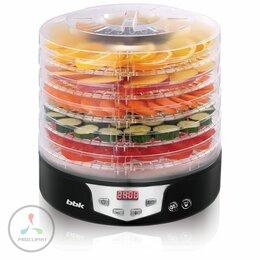 Сушилки для овощей, фруктов, грибов - Сушилка для овощей и фруктов BBK BDH305D черный, 0