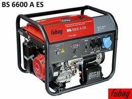Электрогенераторы - Генератор бензиновый Fubag BS 6600 A ES 838798, 0