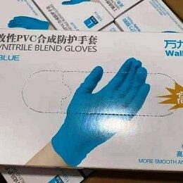 Прочие хозяйственные товары - Нитриловые/виниловые перчатки Wally Plastic, 0