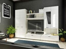 """Стеллажи и этажерки - Набор мебели для гостиной """"Ария-5"""" МДФ глянец , 0"""