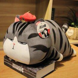 Мягкие игрушки - Мягкая игрушка хитрый кот Wuhuang, новая 45 см, 0