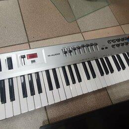 Клавишные инструменты - Миди клавиатура m-audio radium 49, 0