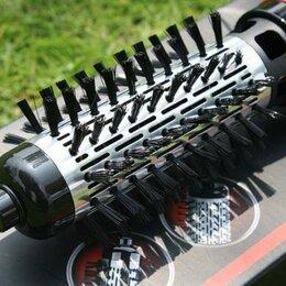 Фены и фен-щётки - Вращающийся фен-расчёска для волос 1000w  GM-4826, 0