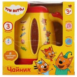 """Заварочные чайники - Чайник """"Играем вместе"""" Три кота на батарейках свет+звук арт. B17387..., 0"""