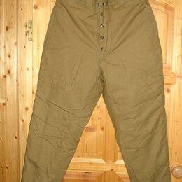 Одежда и обувь - Брюки зимние, утепленные для рыбалки, охоты, работы, 0