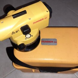 Измерительные инструменты и приборы - Нивелир Leica Runner 24, 0