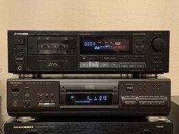 Музыкальные центры,  магнитофоны, магнитолы - Кассетная дека Pioneer CT-449 Made in Japan 220в, 0