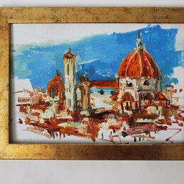 """Картины, постеры, гобелены, панно - картина """"Флоренция"""" в технике импасто, 0"""