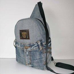 Рюкзаки - Джинсовый рюкзак. , 0