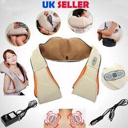 Вибромассажеры - Роликовый массажер для шеи, спины и плеч, 0