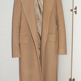 Пальто - Пальто-халат женское шерстяное цвета Camel, 0