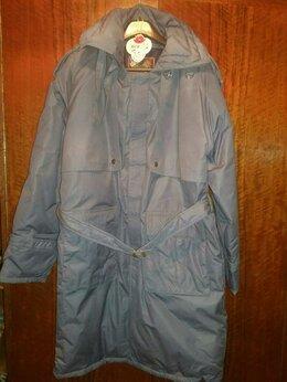 Пуховики - Пальто на гусином пуху (новое), 0