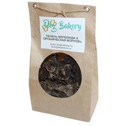 Лакомства  - Dog Bakery - Печенье для собак с лёгким верблюда и органической морковью, 0