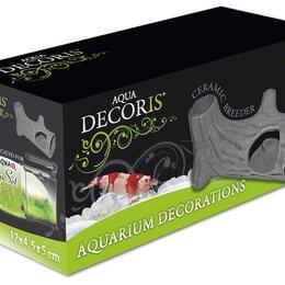 Декорации для аквариумов и террариумов - Укрытие из керамики для аквариума Aquael Ceramic Breeder F-S 12х5х5, 0