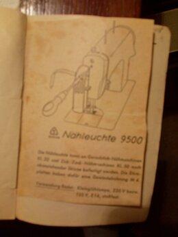 Швейные машины - Швейная машинка фирмы Кехлер с ножным приводом в…, 0
