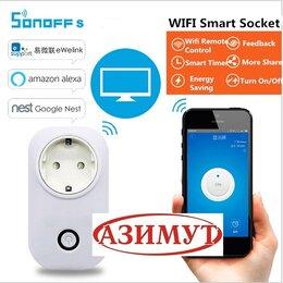 Системы Умный дом - Розетка Wi-Fi 10 А Sonoff S26, 0