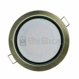 Встраиваемые светильники - Светильник точечный GX53 круг черная бронза D90 IP20 Navigator , 0