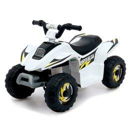 Электромобили - Детский электромобиль «Квадроцикл», цвет белый, 0