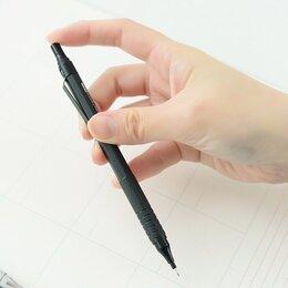 Письменные и чертежные принадлежности - карандаш автоматический из металла, 0