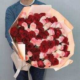 Цветы, букеты, композиции - 101 роза. Букет №164, 0