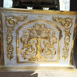 Дизайн, изготовление и реставрация товаров - Жертвенник из дерева, белый с золотом (размер на заказ), 0