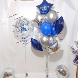 Украшения и бутафория - Воздушные шарики с гелием, 0