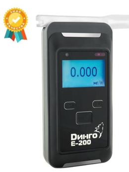 Приборы и аксессуары - Алкотестер Динго Е-200 без слота для SD-карты, 0