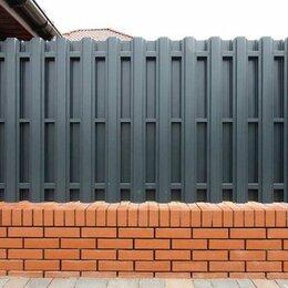 Заборы, ворота и элементы - Штакетник металлический , 0