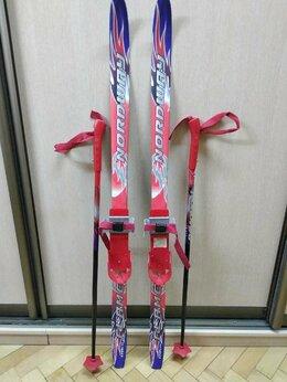 Беговые лыжи - Комплект лыжный детский Nordway Flame Soft, 0