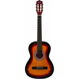 Электрогитары и бас-гитары - Классическая гитара Terris TC-3801A SB (7/8), 0
