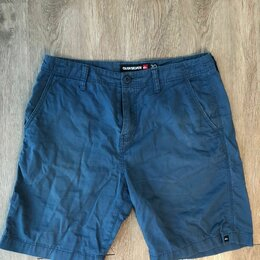 Шорты - Шорты QuikSilver синие, размер 30, 0