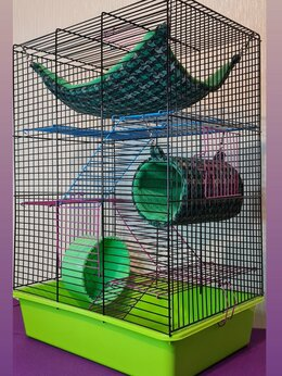 Клетки и домики  - Клетки для грызунов - 58×40×30, 0